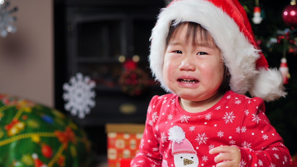 10 Reasons Why Your Kid Will End Up Crying On Christmas Day