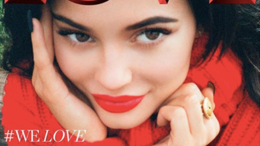 1c8fe670b7387 Kylie Jenner's LOVE Magazine Cover Was Shot By Kendall Jenner & It's  Gorgeous