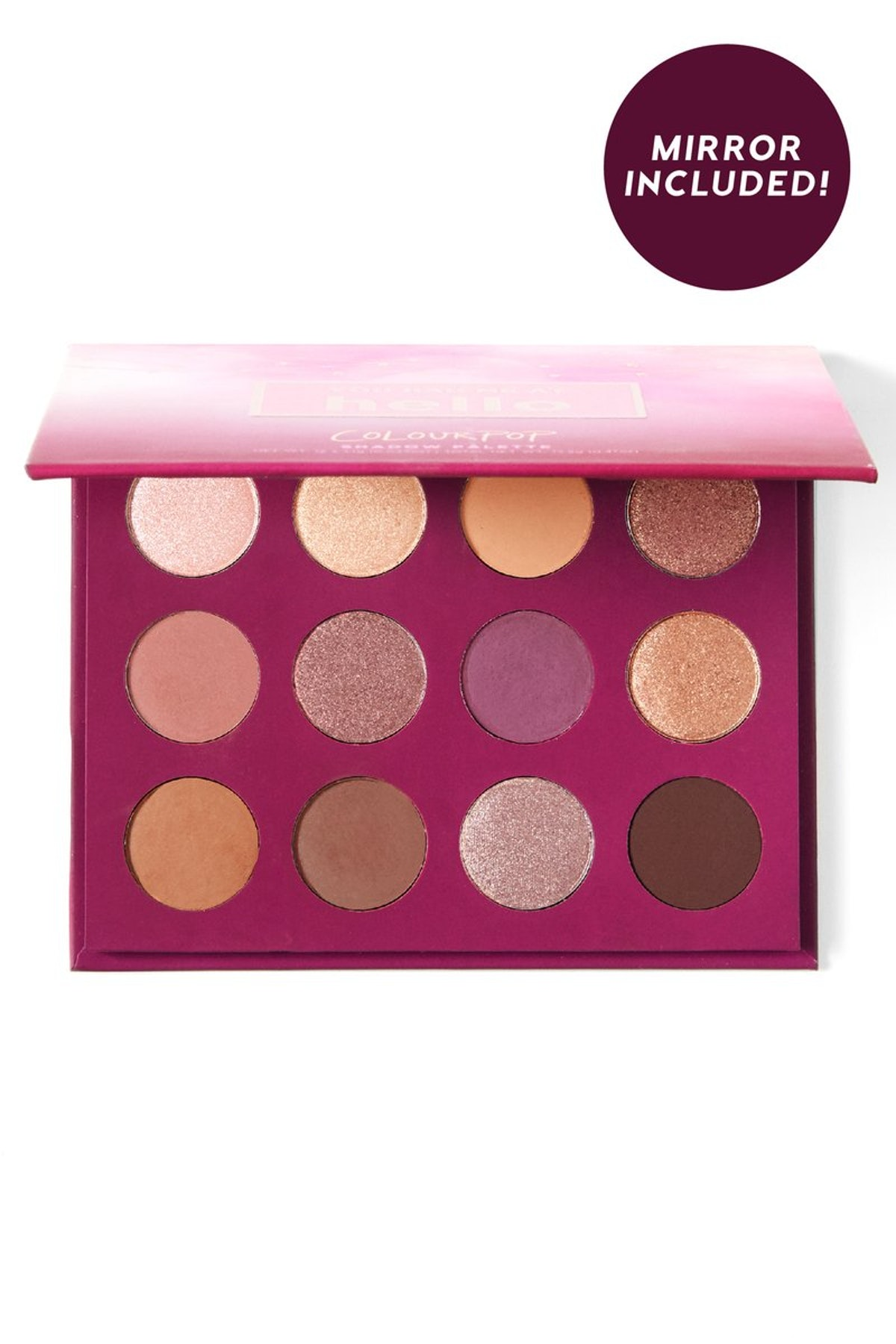 YOU HAD ME AT HELLO Pressed Powder Shadow Palette