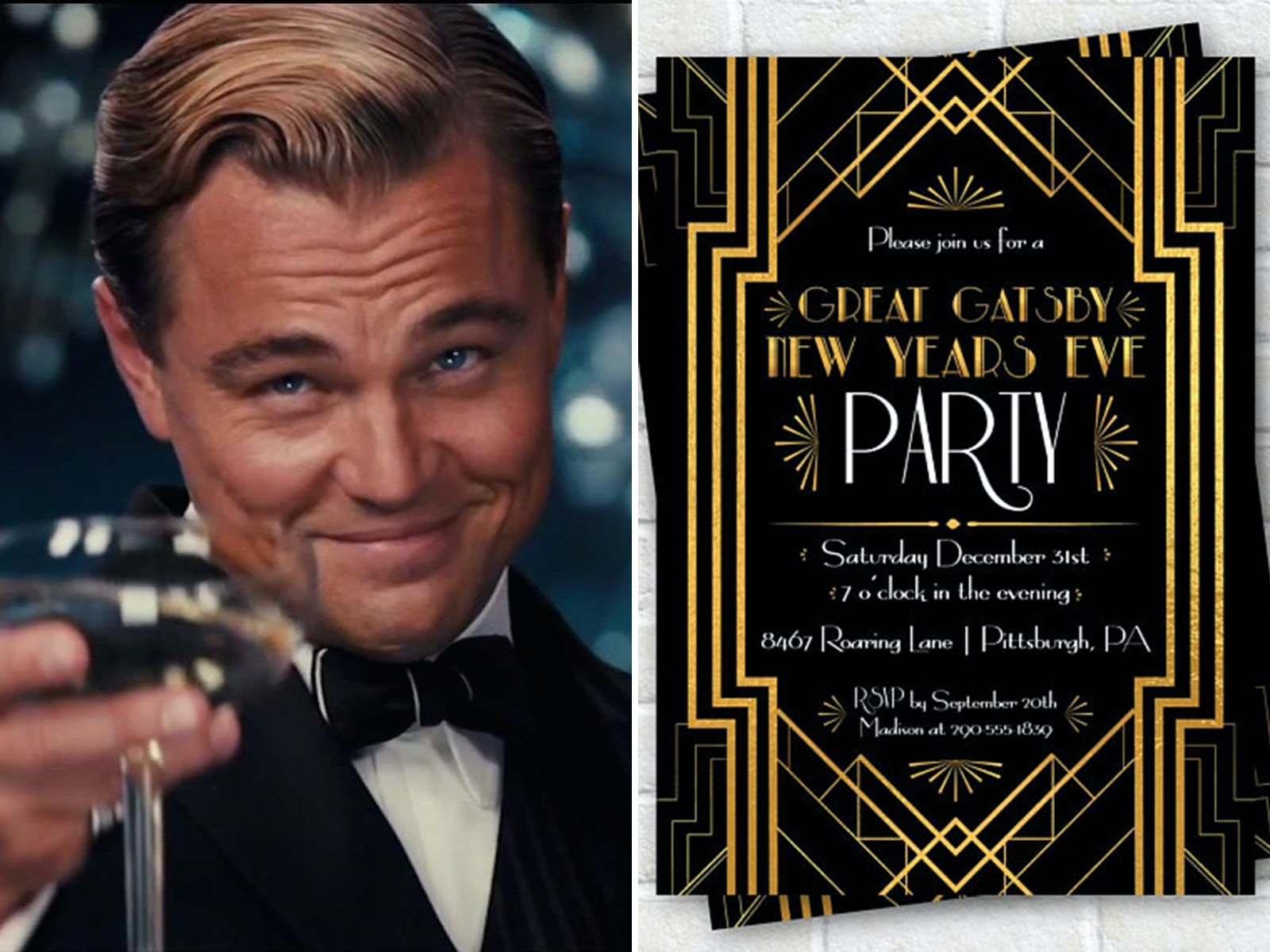 Throw A \u0027Great Gatsby\u0027 Themed New Year\u0027s Eve Party With