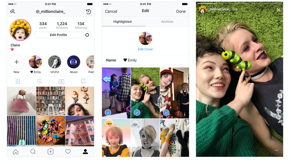 How To Use Instagram Story Highlights So You Can Make Sure Everyone