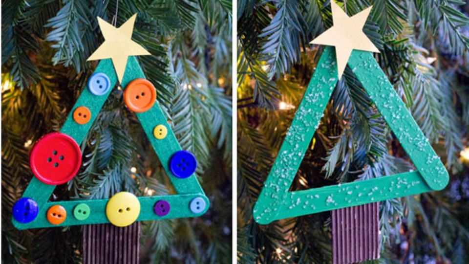 9 cute kid friendly diy christmas decorations that you can actually do - Cute Diy Christmas Decorations