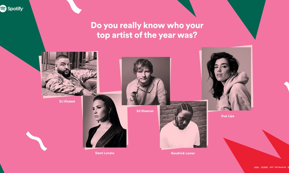 Art Quiz : How to get your 2017 wrapped spotify playlist because 'tis the season