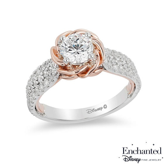 Zalesu0027 Enchanted Disney Ring Collection Has The Internet Wishing They Were  Royalty