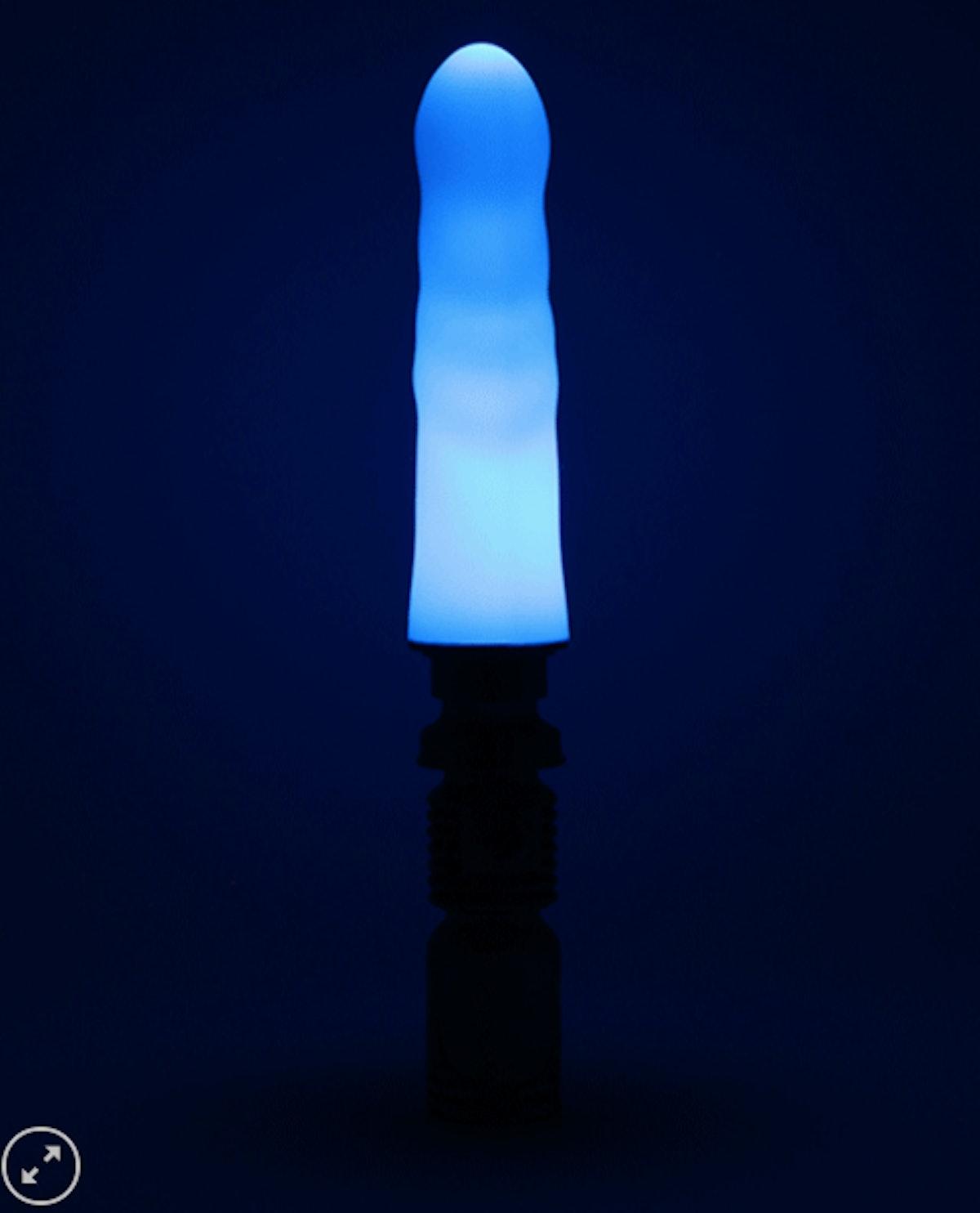 Blue LED Laser Sword Dildo