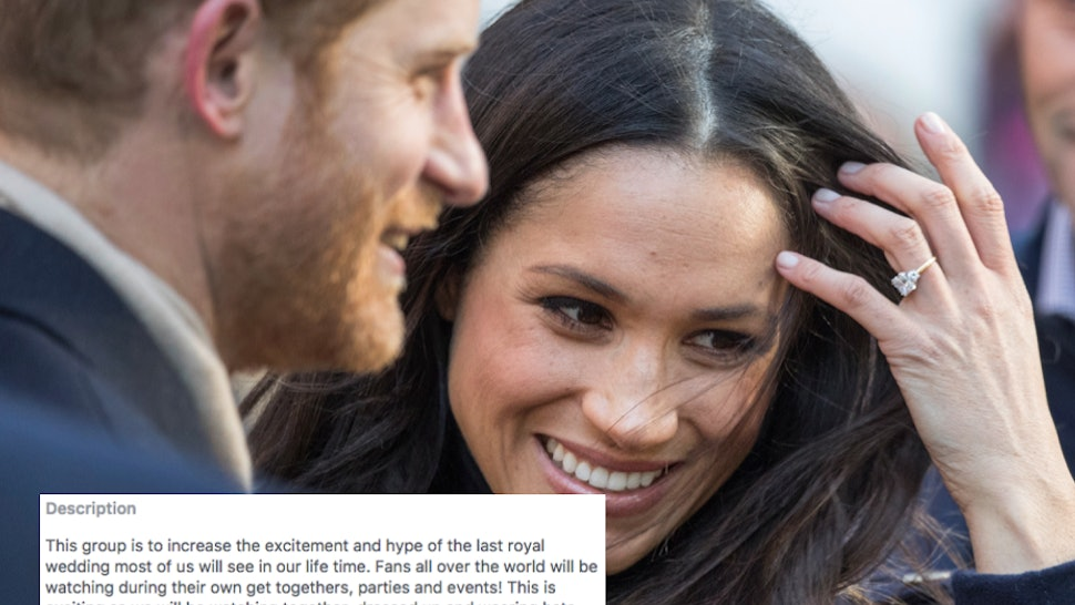 Royal Wedding Time In Us.Royal Engagement Facebook Groups Are Planning Epic Online Irl