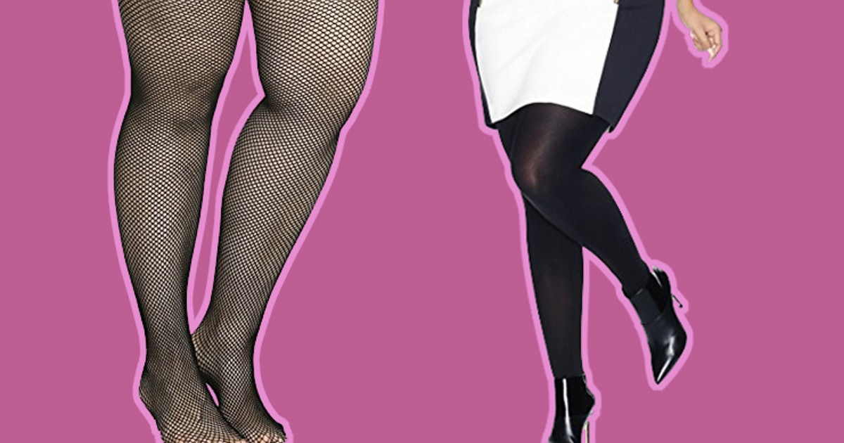 e72300e730b The 12 Best Plus Size Tights That Won t Slip Down