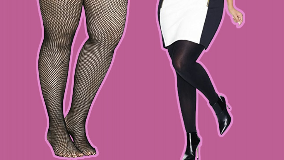 f367db4399f99 The 12 Best Plus Size Tights That Won't Slip Down