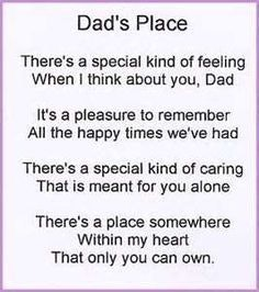 11 Sentimental Poems To Share On Fathers Day