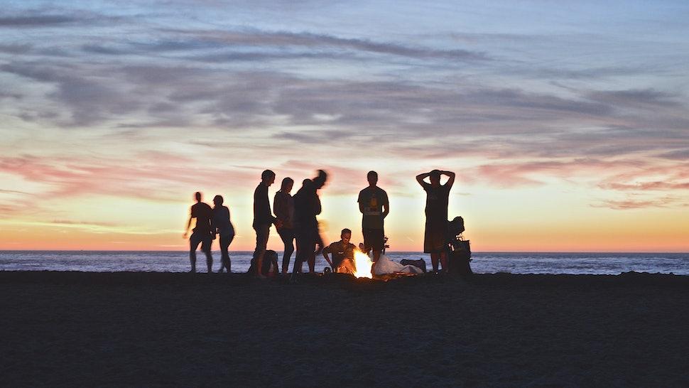 on the beach at night walt whitman analysis