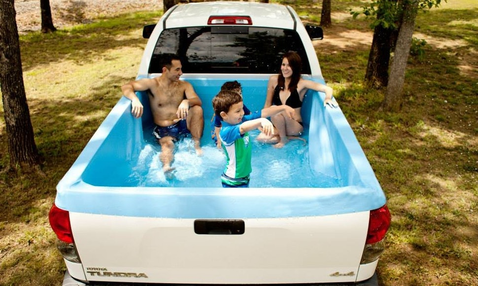 The Pick Up Pool Is The Summer Hack You Amp Your Car Deserve