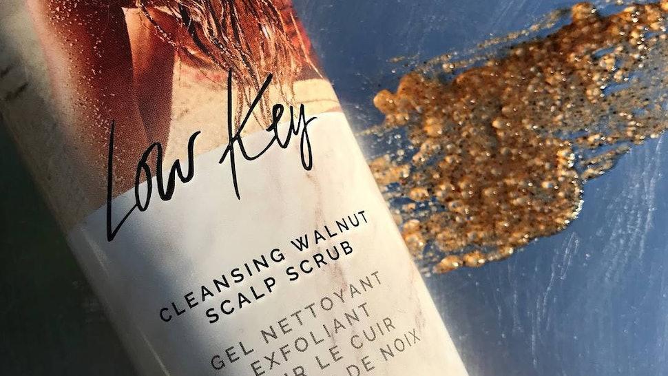 IGK's New Low Key Scalp Scrub Has Apple Cider Vinegar In It