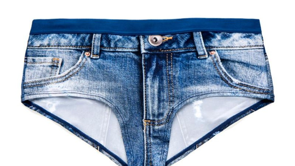 fd643f37a64 These Underwear Look Exactly Like Jeans... Or Are They Jeans That Look  Exactly Like Underwear