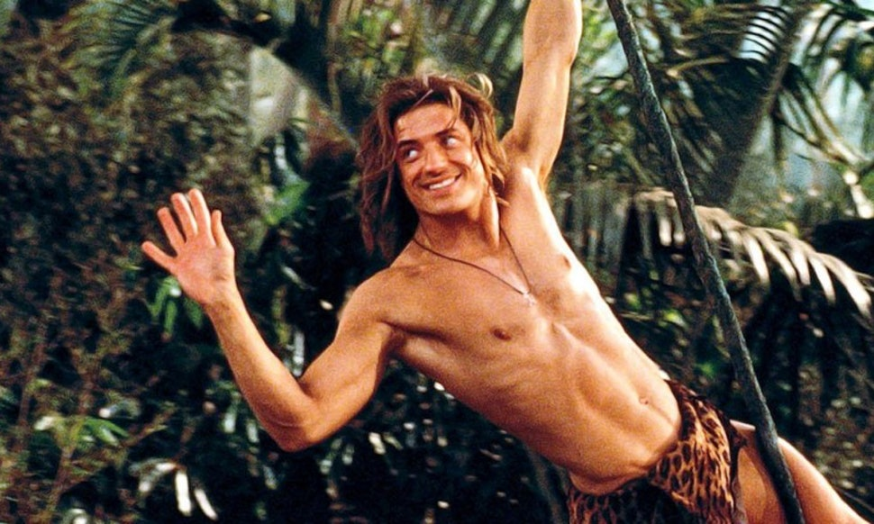 where is george of the jungle star brendan fraser now the 90s