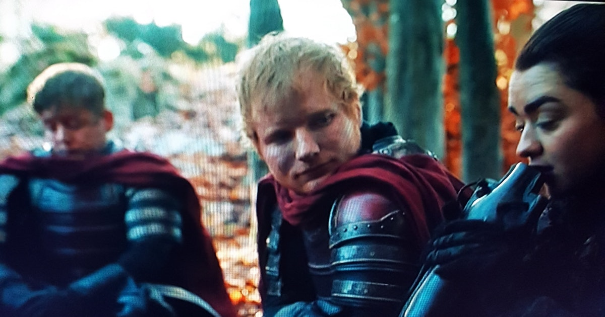 Ed Sheeran S Game Of Thrones Cameo Came With A Song Because Of Course