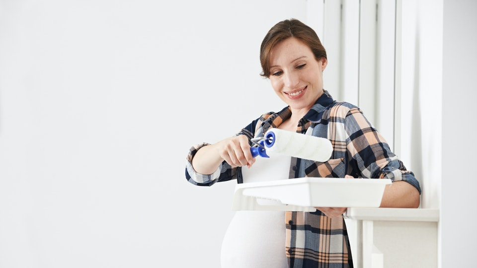 Can You Paint While Pregnant Some Things To Consider While - Can you paint while pregnant
