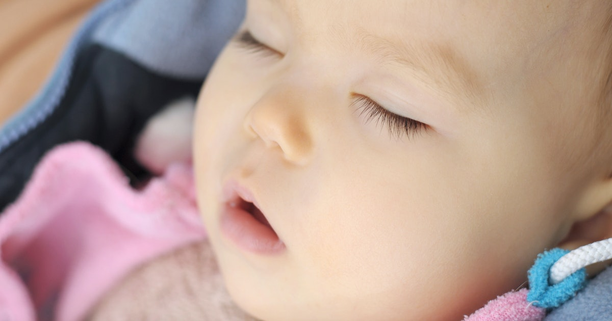 Why Does My Baby Sleep With Their Mouth Open? Yes, There's ...