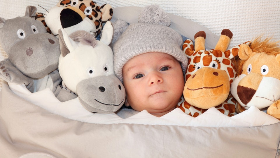 When Can Your Baby Have A Stuffed Animal In The Crib Heres What