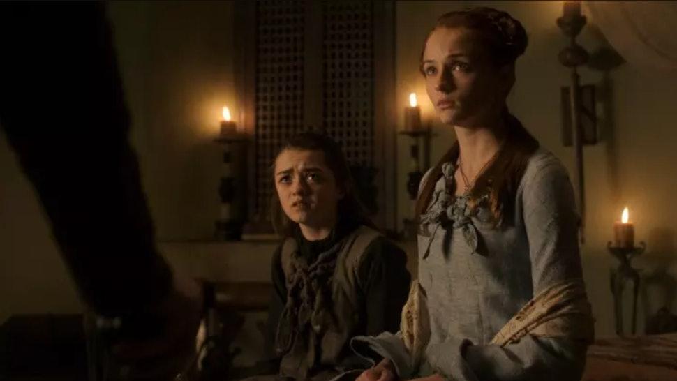 Will Arya Sansa Reunite On Game Of Thrones The Stark