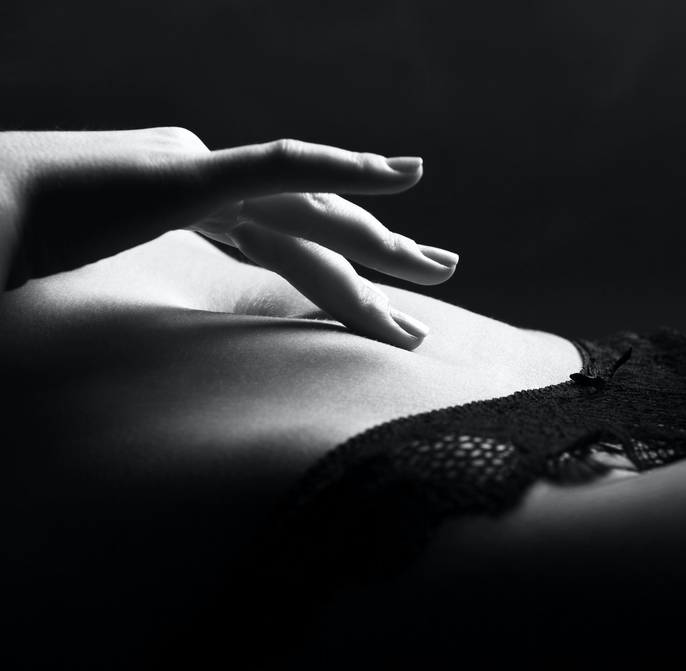 Erotic bikini photography