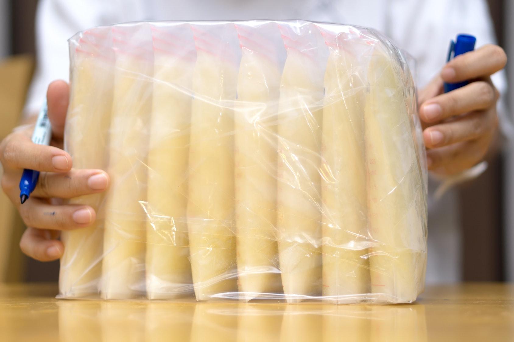Breast milk for burn patients