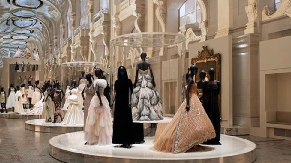 72cbc2f471b6 This Dior Exhibition Features 300 Dreamy Gowns   It s Like A Fairy Tale —  PHOTOS