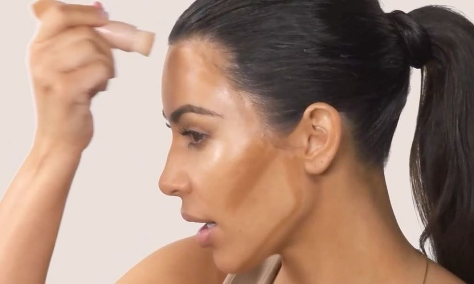 Kim Kardashians Kkw Beauty Contour Tutorial Will Show You How She