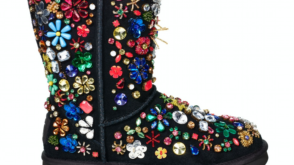 8ac7b0963e3e How Much Are UGG   Jeremy Scott Boots  The Bedazzled Pair Costs A Pretty  Penny