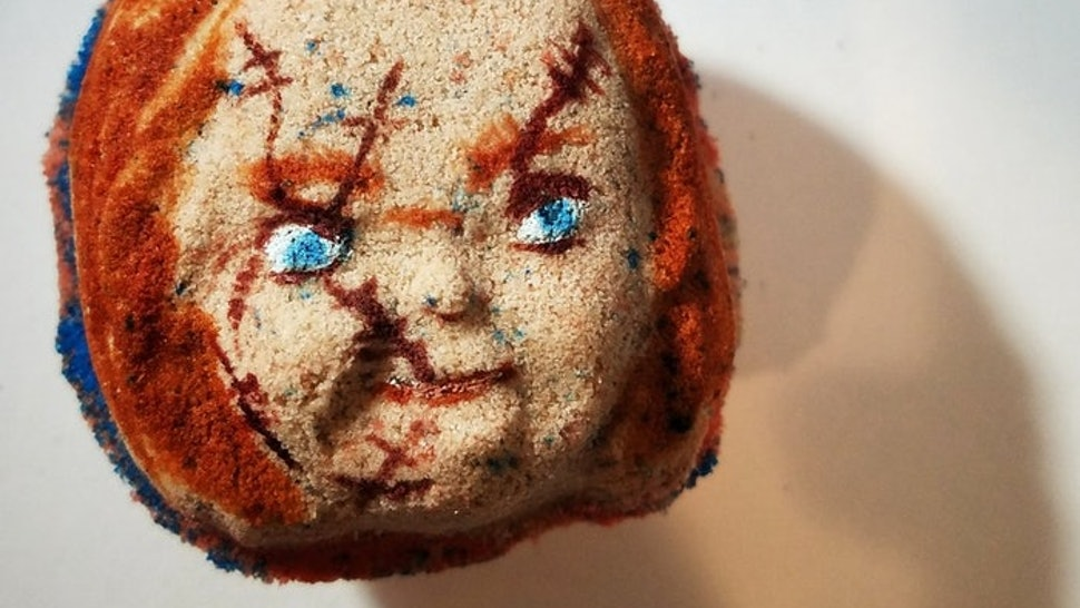 These Horror Movie-Themed Bath Bombs Are Surprisingly