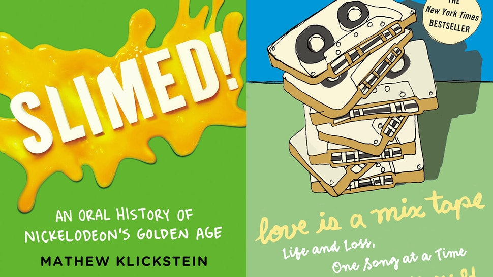 11 Books About The '90s That Will Totally Fuel Your
