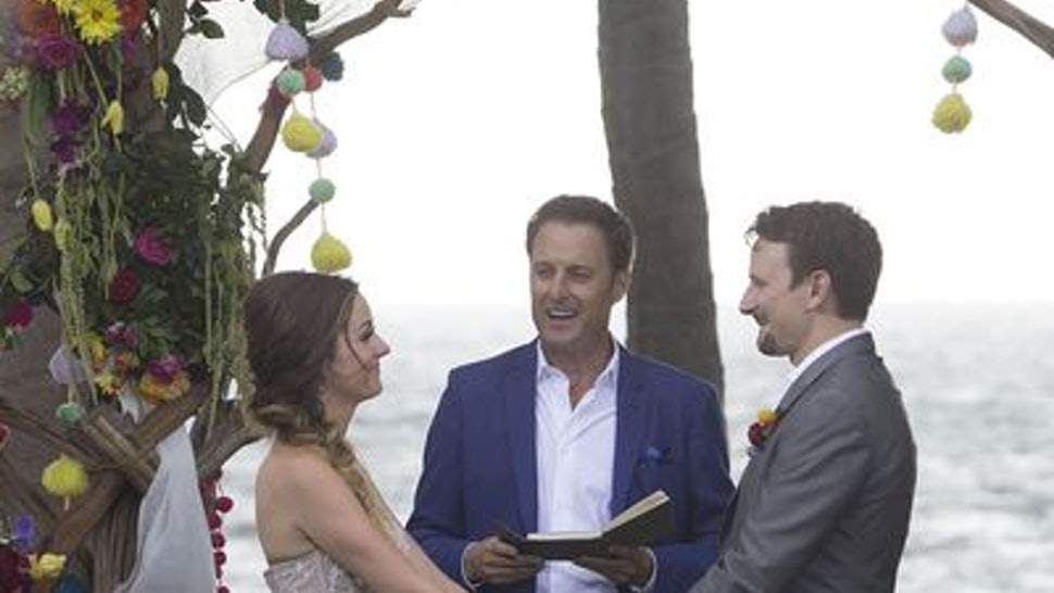 Carly And Evan Wedding.Carly Evan S Bachelor In Paradise Wedding Vows Will Make You