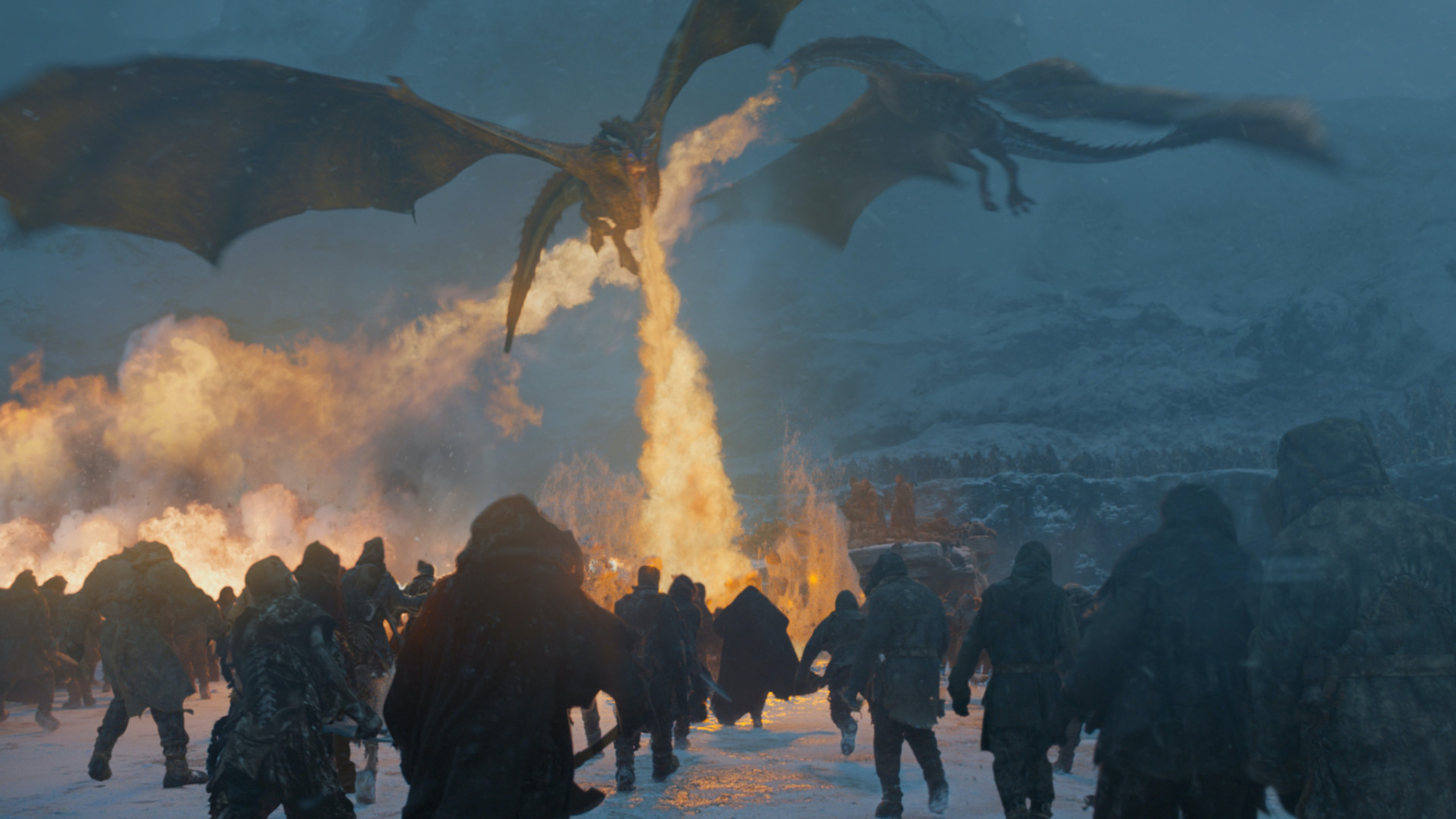 Why Viserion Isn't Actually An Ice Dragon On 'Game Of Thrones'
