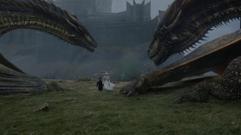 Is Viserion A White Walker On 'Game Of Thrones'? Ice Dragons