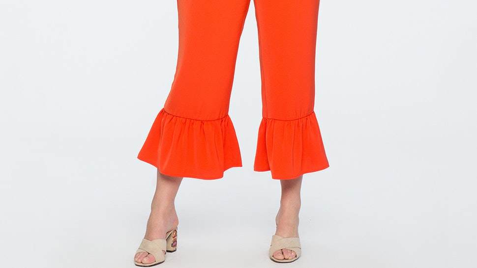 0b0d2f10fd5 37 Plus Size Cropped Wide Leg Pants That ll Make Your Summer To Fall  Transition A Breeze