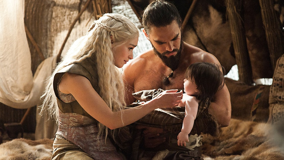 What Happened When Daenerys Was Pregnant With Khal Drogo's