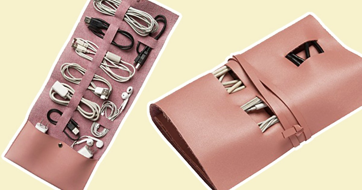 Cord Organizers Are The Travel Essential You Didn t Know You Needed