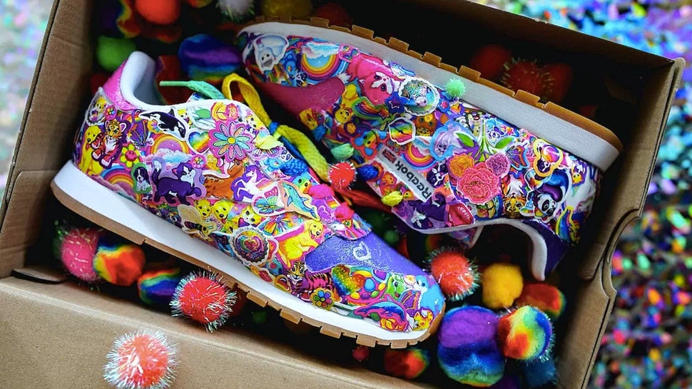 Lisa frank reebok just teamed up for the 39 90s shoe of - Ed hardy lisa frank ...