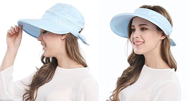 1The Convertible Visor That s Two Hats In One. Amazon 384bd8a106d5