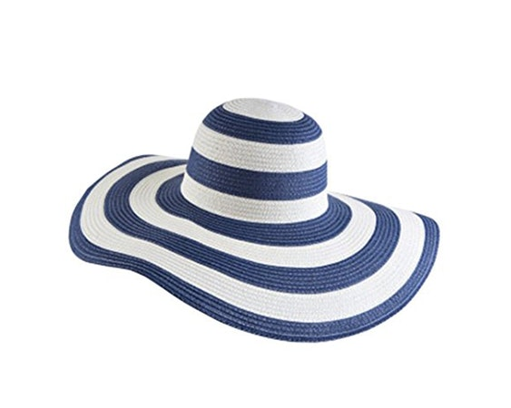 7A Striped Hat For That Old Hollywood Glamour. Amazon f02d69f2edb1
