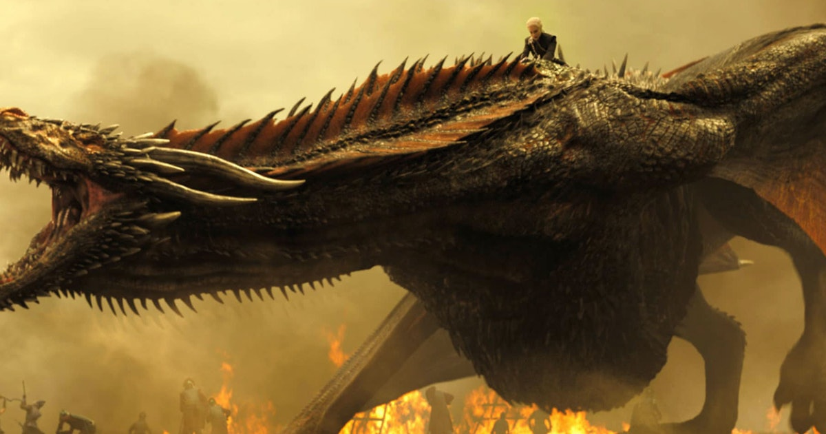 Drogon Game Of Thrones