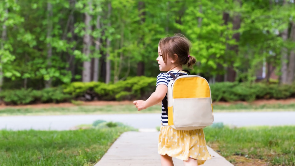 How To Prepare Your Kid For Their Very First Day Of School ...