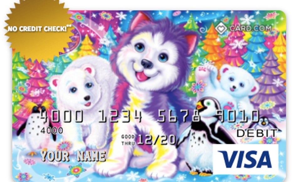 Lisa Frank Debit Cards Are Here To Give Your Wallet A Colorful Makeover