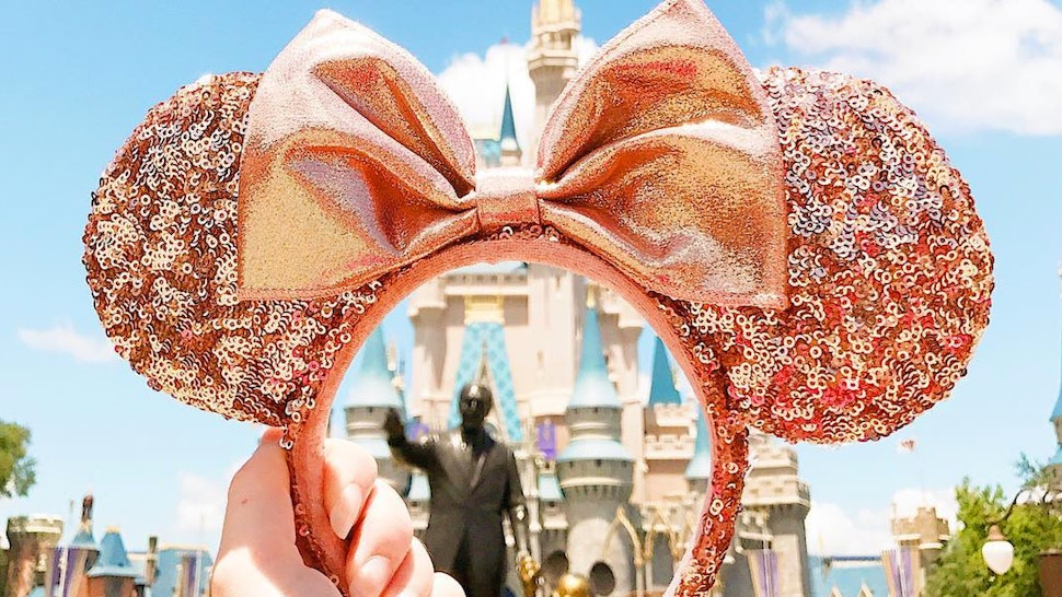 53d5b20fdac Where To Buy Rose Gold Minnie Mouse Ears So You Can Dress For Disney In  Style