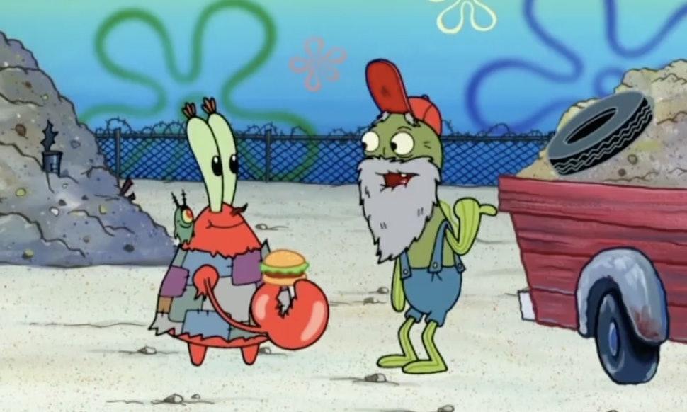 spongebob squarepants reveals old man jenkins true identity even