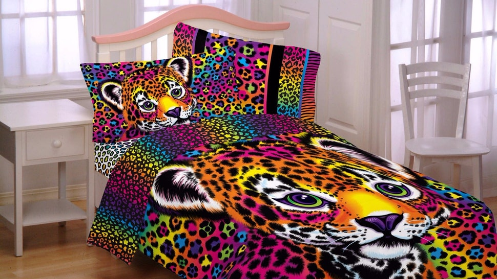 40d33963763 This Lisa Frank Bedding Set Proves That The  90s Will Never Truly Die