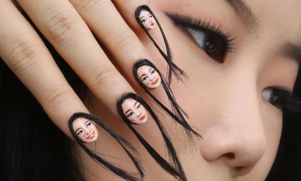 Hair Nails Are The Nail Art Trend You Never Knew Needed To See