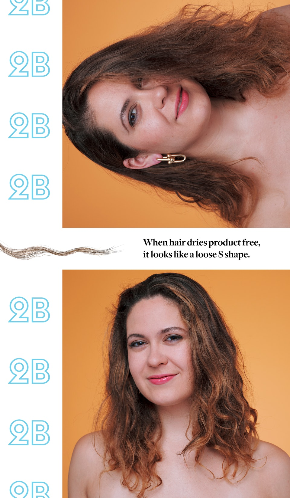 how to style 2c hair how to tell your curl type so you can get the most out of 7321