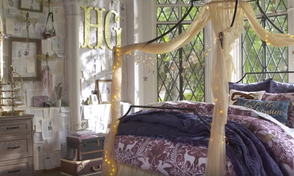 Pbteen S Harry Potter Collection Has Everything Your Nerdy Bedroom Needs