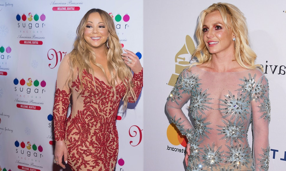 Britney Spears & Mariah Carey Reunited At A Dinner Party Because ...