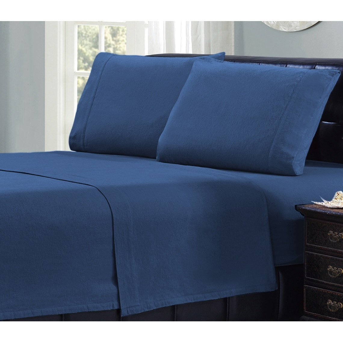 Amazing 3An Affordable Set Of U0027Durableu0027 Flannel Sheets That Fit All Mattress Sizes